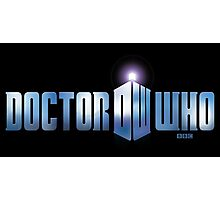 Doctor Who logo Photographic Print