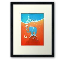 Dreaming in between fairy tales Framed Print