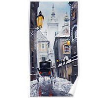 Prague Old Street 02 Poster
