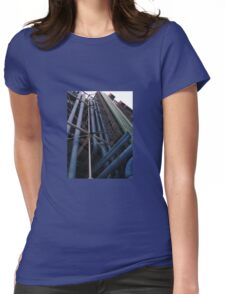 STRAIGHT LINES Womens Fitted T-Shirt