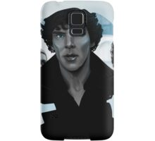 Sherlock - Outline portrait  Samsung Galaxy Case/Skin