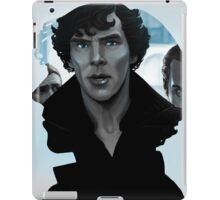 Sherlock - Outline portrait  iPad Case/Skin