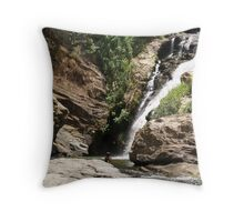 In the Plunge Pool Throw Pillow
