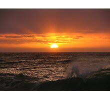 Bunbury Sunset Photographic Print