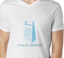 That's Grate! Mens V-Neck T-Shirt
