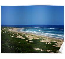 Wild & Rugged Australian Beach Poster