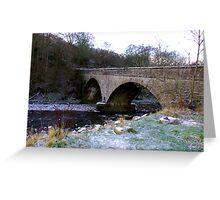 The Bridge at Gunnerside North Yorkshire Greeting Card