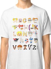 Child of the 90s Alphabet Classic T-Shirt