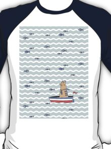 Salty sailor cat. T-Shirt