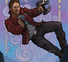 Starlord - Peter Quill portrait  by MattHaworth