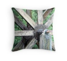 The cog that turns the wheel Throw Pillow