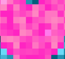 I Love Every Pixel of You Sticker