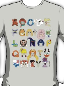 Child of the 80s Alphabet T-Shirt