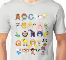 Child of the 80s Alphabet Unisex T-Shirt