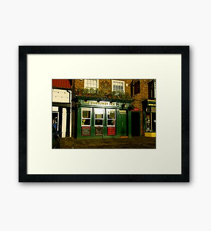 The Darrowby Inn - Thirsk North Yorkshire Framed Print