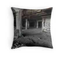 Your God Is Not Here Throw Pillow