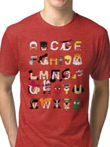 Child of the 60s Alphabet Tri-blend T-Shirt