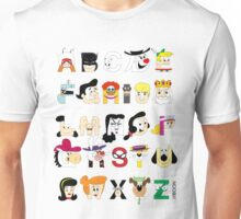 Child of the 60s Alphabet Unisex T-Shirt