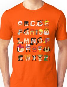 Child of the 60s Alphabet T-Shirt