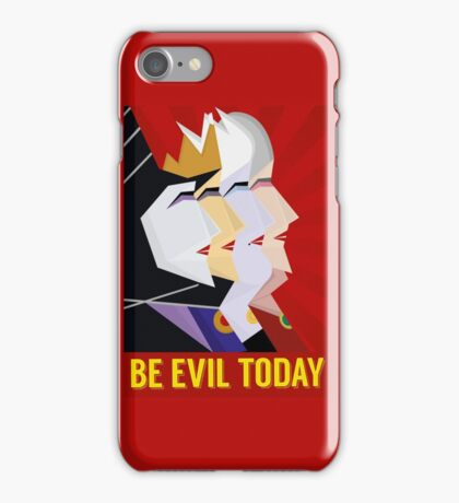 Be Evil Today iPhone Case/Skin