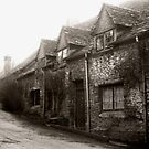 Wiltshire cottages by Paul Woloschuk