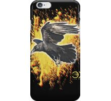 the crow know iPhone Case/Skin