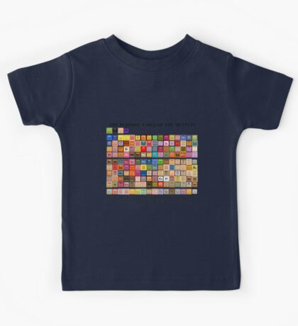 Periodic Table of the Muppets Kids Tee