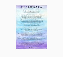 Desiderata Womens Fitted T-Shirt