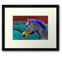 Horse Power - Old and New Framed Print