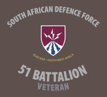SADF - 51 Battalion Veteran Shirt by civvies4vets