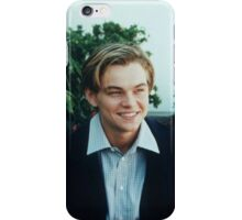 Young Leonardo Dicaprio iPhone Case/Skin