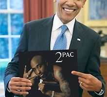 Obama and Tupac by Dannyh508