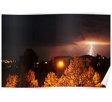 Alberta Lightning Poster