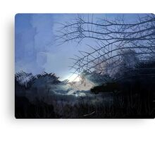 DRIVING INTO THE LIGHT Canvas Print