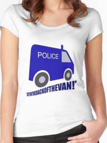 getinthebackofthevan! Women's Fitted Scoop T-Shirt