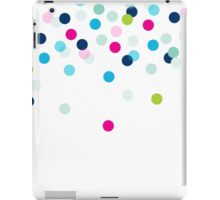 CONFETTI SPOT modern bright colourful fun pattern iPad Case/Skin
