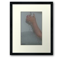 Life... We're Only 75% Made Up Of It. Framed Print