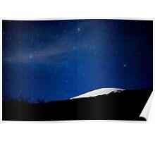Moonlit Mauna Kea Summit Poster