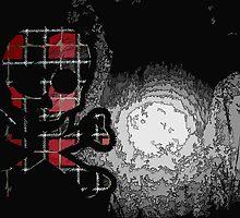 Plaid Skull by KhristHavok