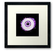 I (eye) Framed Print