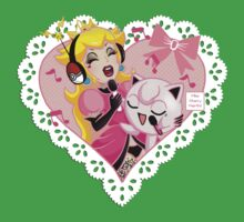 Princess Peach and Jiggly Puff Sing-a-Long Kids Clothes
