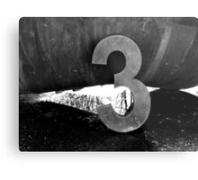 3...It's the Magic Number Metal Print