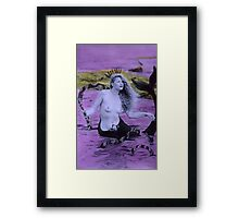 Snake Goddess Framed Print