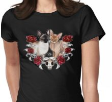 Roo and Callie Womens Fitted T-Shirt