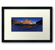 Unaweep Canyon, Frozen Dolores River Framed Print