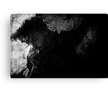 tar pit trap Canvas Print