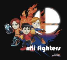 Super Smash Bros - Mii Fighters 2 by phoenix529