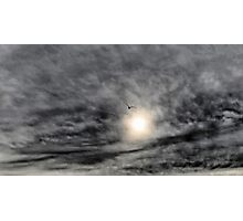 Fly To The Sun  HDR Photographic Print