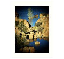 Watson Lake, Prescott, AZ Art Print