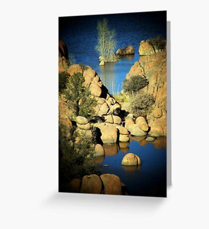 Watson Lake, Prescott, AZ Greeting Card